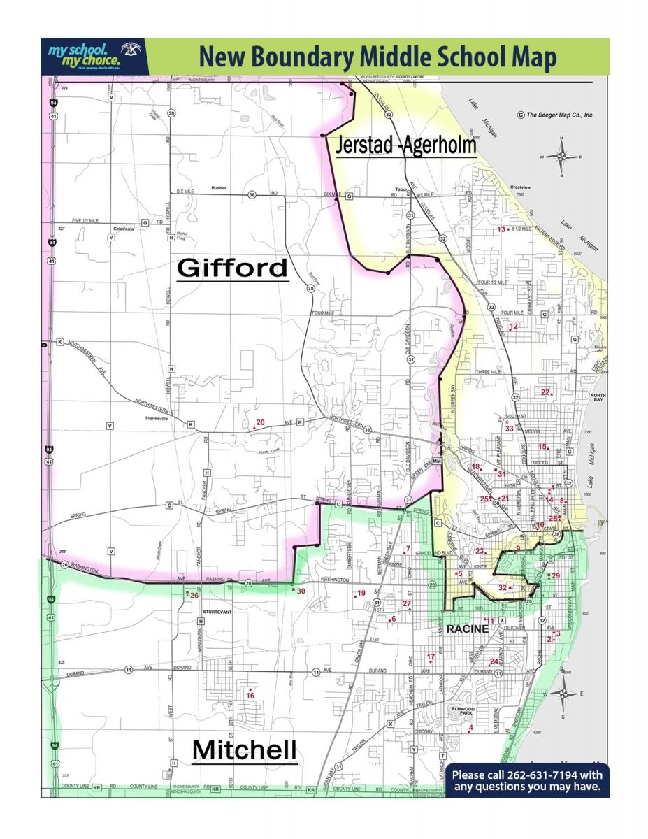 Racine Wisconsin Map Apple Map - Wisconsin map us