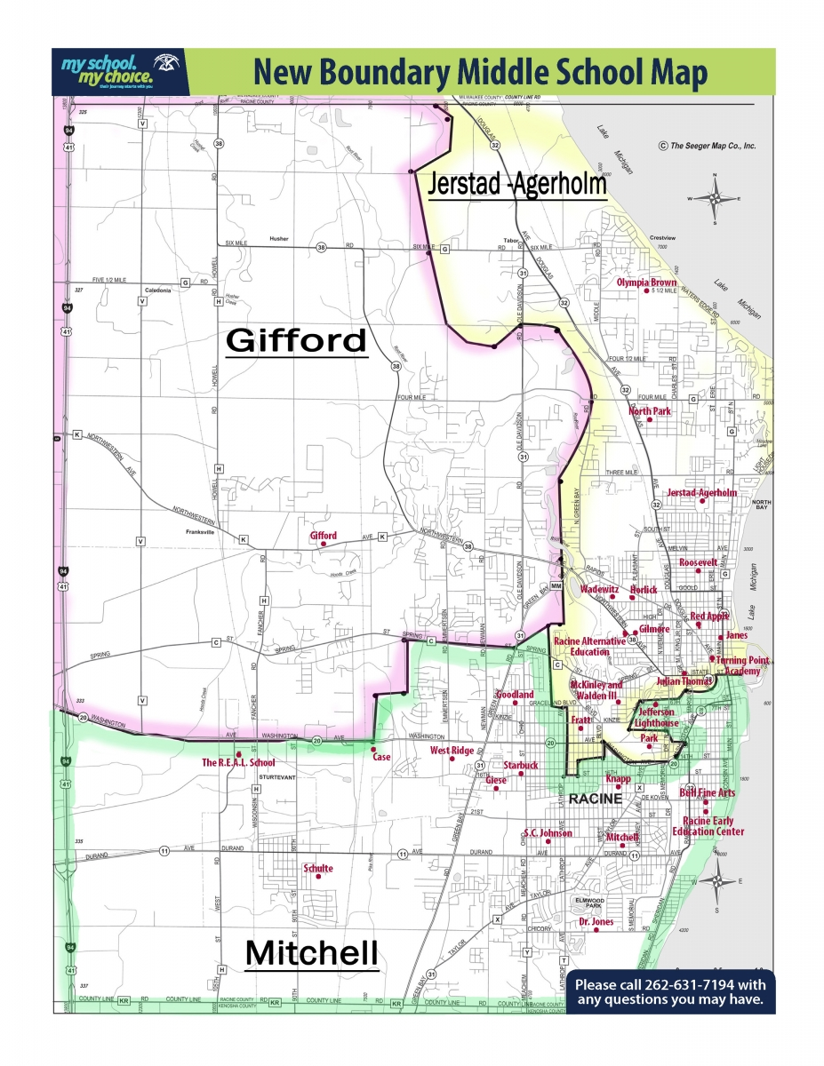Boundary Map | Racine Unified District on