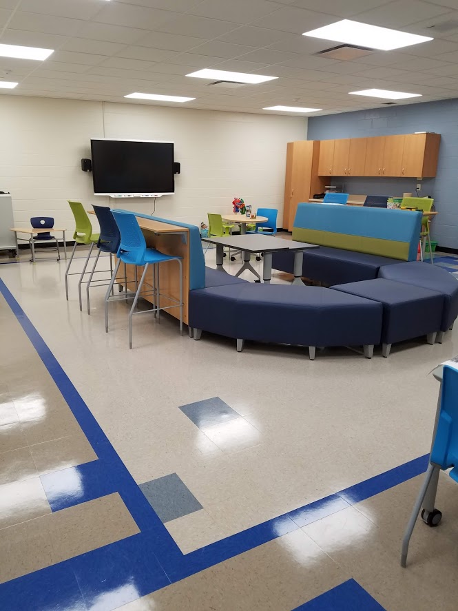 check out gilmore fine arts new library  u0026 maker space